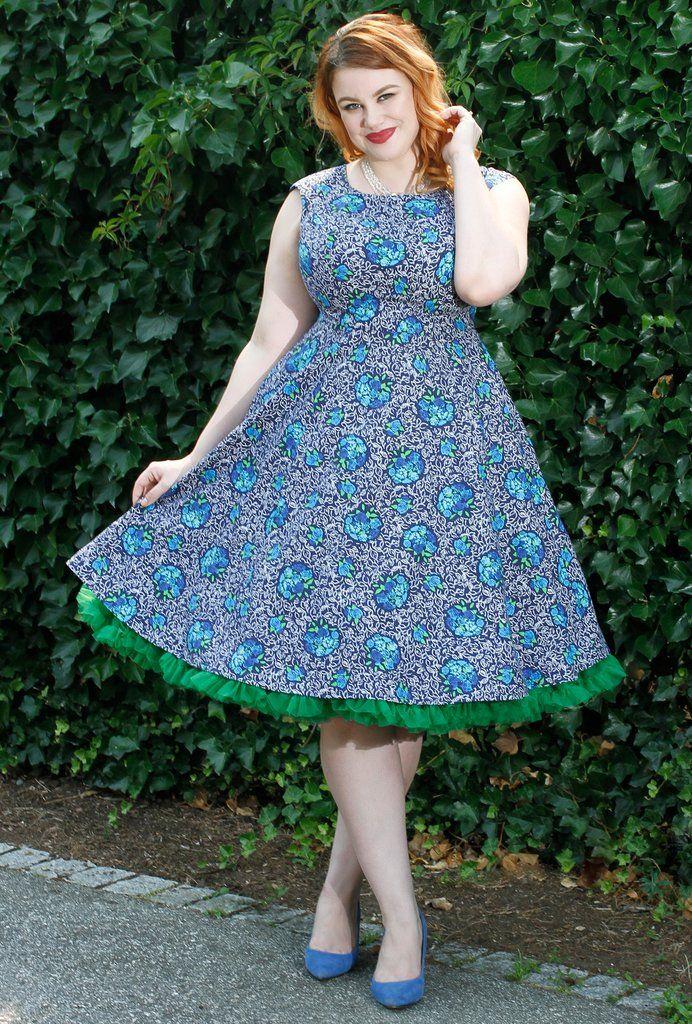 Olivia Dress - Blue Bayou