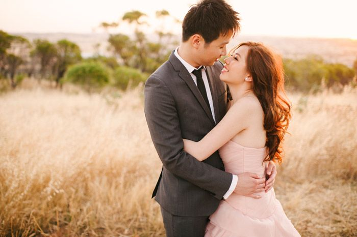A Blush Pink Vera Wang Gown, With Tea And A Bunny - The Wedding Notebook magazine