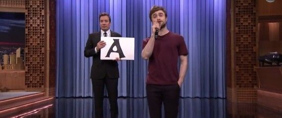 Daniel Radcliffe Is Ridiculously Good At Rapping- I think I have a new celeb crush... Seriously, WATCH!!!