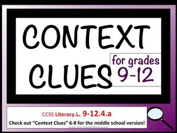 17 Best ideas about Context Clues Worksheets on Pinterest ...
