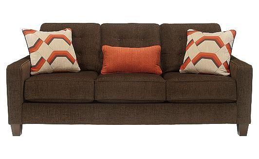 "Verbena - Chocolate Sofa (83""W x 39""D x 37""H) by Ashley Furniture"