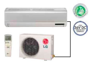 LG LS186CE Wall Mount Single Zone Mini Split Cooling Ductless System 17,800 BTUs by LG. $1634.00