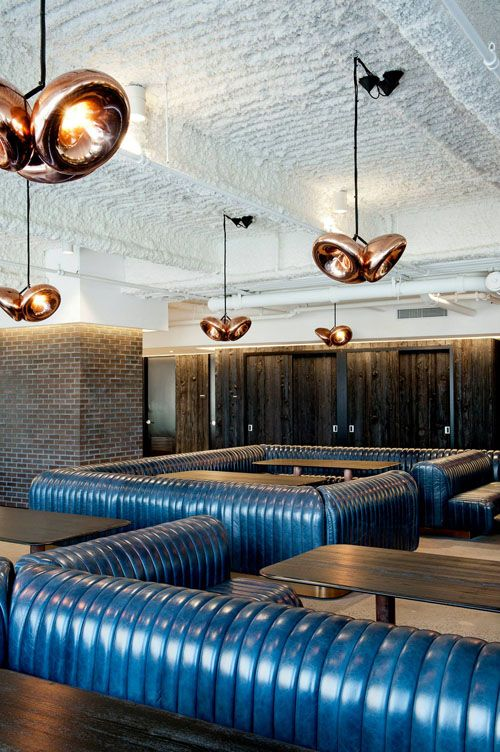 Void Pendants by Tom Dixon: Tom Dixon, Studios, Lighting Design, Commercial Furniture, Erickson Offices, Ultimate Lunch, Mccann Erickson, Mccann Offices