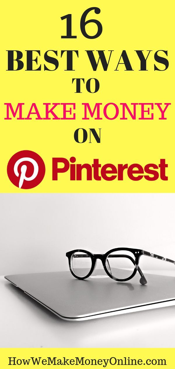 16 Best Ways to Make Money on Pinterest 2019 – Make Money Pinterest – Work from Home Jobs | Make Money from Home | Stay at Home Mom Jobs at How We Make Money Online