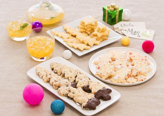 Three ways with Shortbread - perfect Christmas treat!