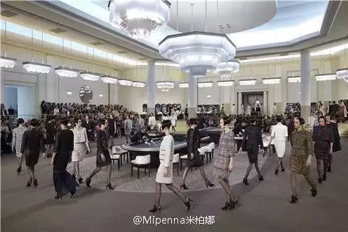 2015 CHANEL Fashion Show Casino