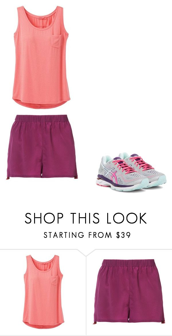 """""""Lalalala"""" by skylarmuffin on Polyvore featuring prAna, Figue and Asics"""