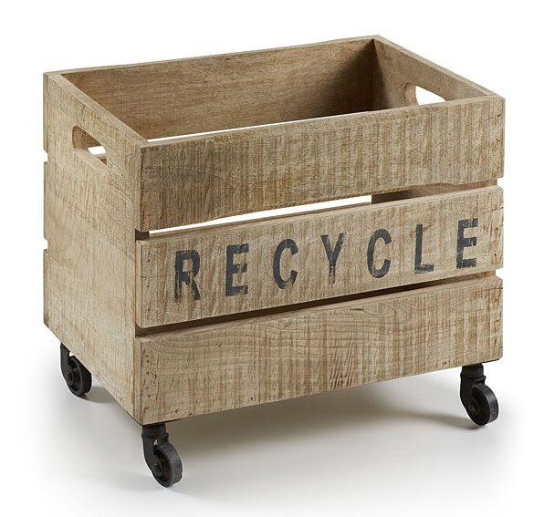 Muebles Portobellostreet.es: Contenedor Recy - Muebles Auxiliares Vintage - Muebles de Estilo Vintage