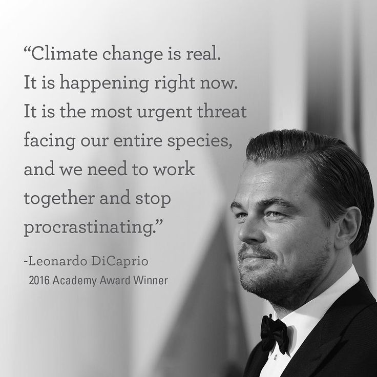 "Congrats to Leonardo DiCaprio who won Best Actor at the Oscars! A passionate advocate for sustainability and a fellow World Wild Life  board member, DiCaprio focused on Climate Change in his acceptance speech: ""Let us not take our planet for granted."" From the historic decisions made at COP21 in January to Leo's commendable speech last night, let's keep the movement going."