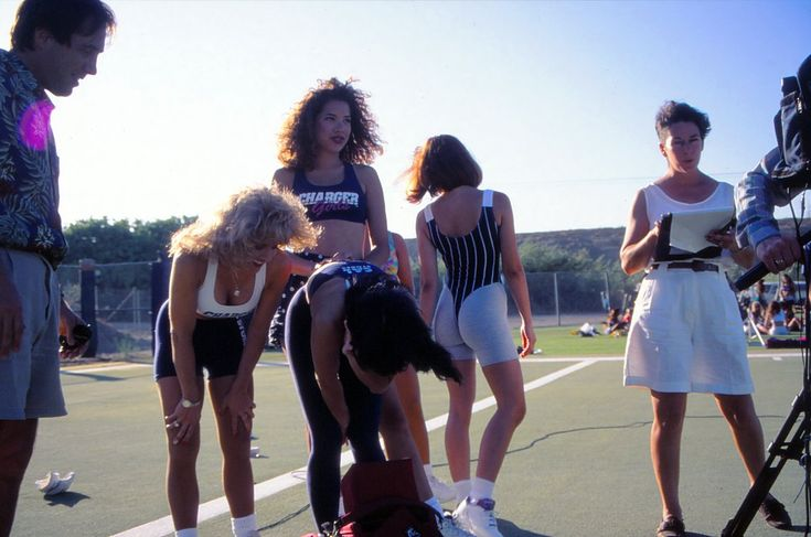 Crystal Pyramid Crew  ‏     @crystalpyramid1   now  More  #FlashbackFriday 1994 Chargers Cheerleader Tryouts - yep, those were the days, when San Diego actually had a football team.  Not a Super Bowl winning team, but still...