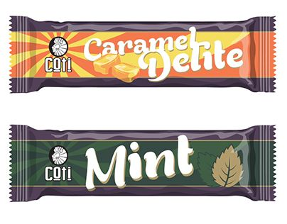 Chocolate Bar Wrapper Designs for Coti https://www.behance.net/gallery/28004539/Chocolate-Bar-Wrapper-Design #mattreid #chocolate #wrapper #packaging #candybar