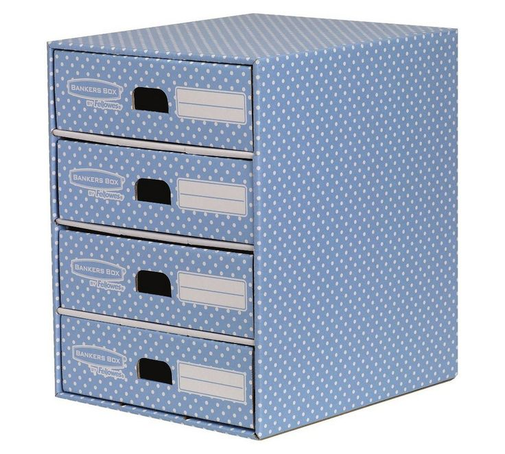 Buy Fellowes Bankers Box Style 4 Drawer Storage Unit - Blue at Argos.co.uk - Your Online Shop for Filing cabinets and office storage, Office furniture, Home and garden.