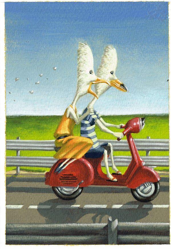 Giacomo Garelli Illustratore: SCAPPANDO VIA