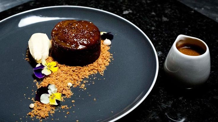Sticky Date Pudding with Salted Bourbon Butterscotch Sauce