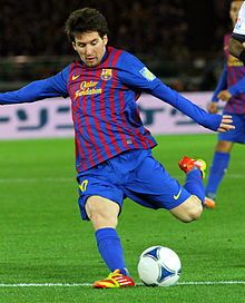 Lionel Messi -Argentine forward, plays for FC Barcelona and Argentinian national team