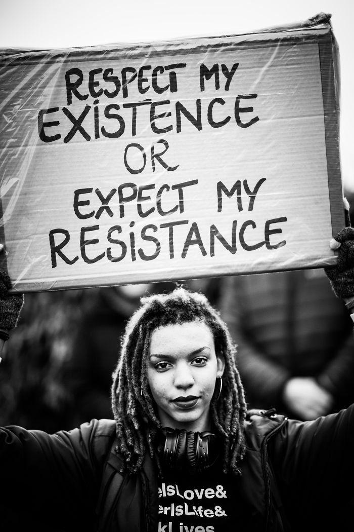 Respeta mi existencia o mira mi resistencia