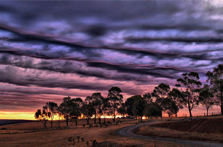 Buninyong Australia  city photos : Australian Weather Calendar 2013 / March: Sunset highlights streets of ...