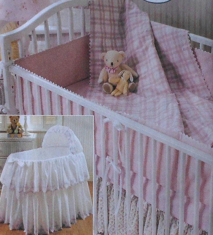 Laura Ashley Bassinet Cover Crib Comforter Bumpers Dust