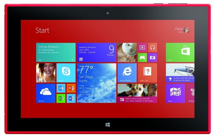 Nokia Lumia 2520 Tablet 4G LTE Red (Verizon) - Factory Unlocked Per VZ site #Nokia