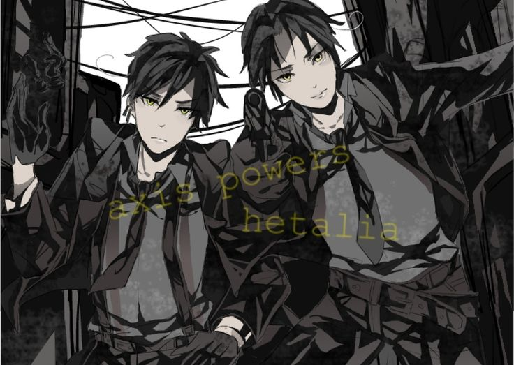 Pixiv Id 3274755, Axis Powers: Hetalia, North Italy, South Italy, Mafia, Italy Brothers