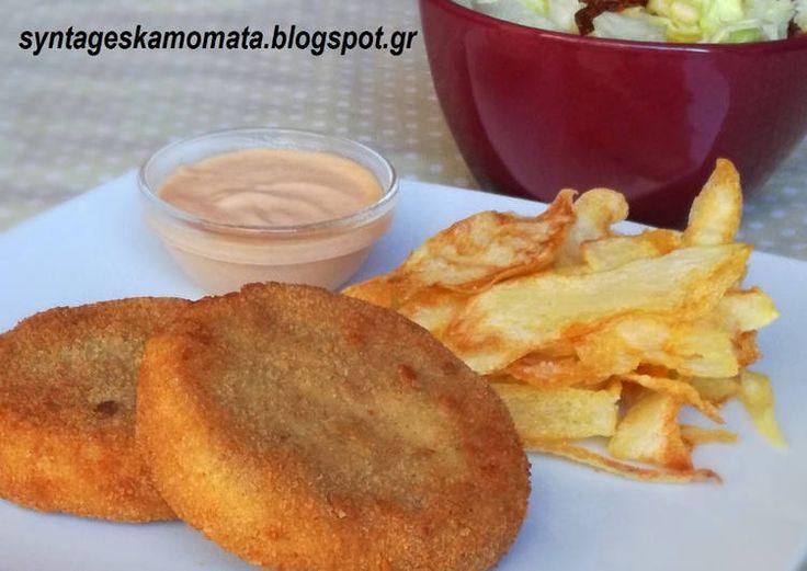 Μπακαλιάρος πανέ - Fish sticks #cookpadgreece