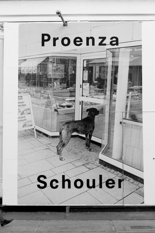 PROENZA SCHOULER .. DOG ANOUK WISHES