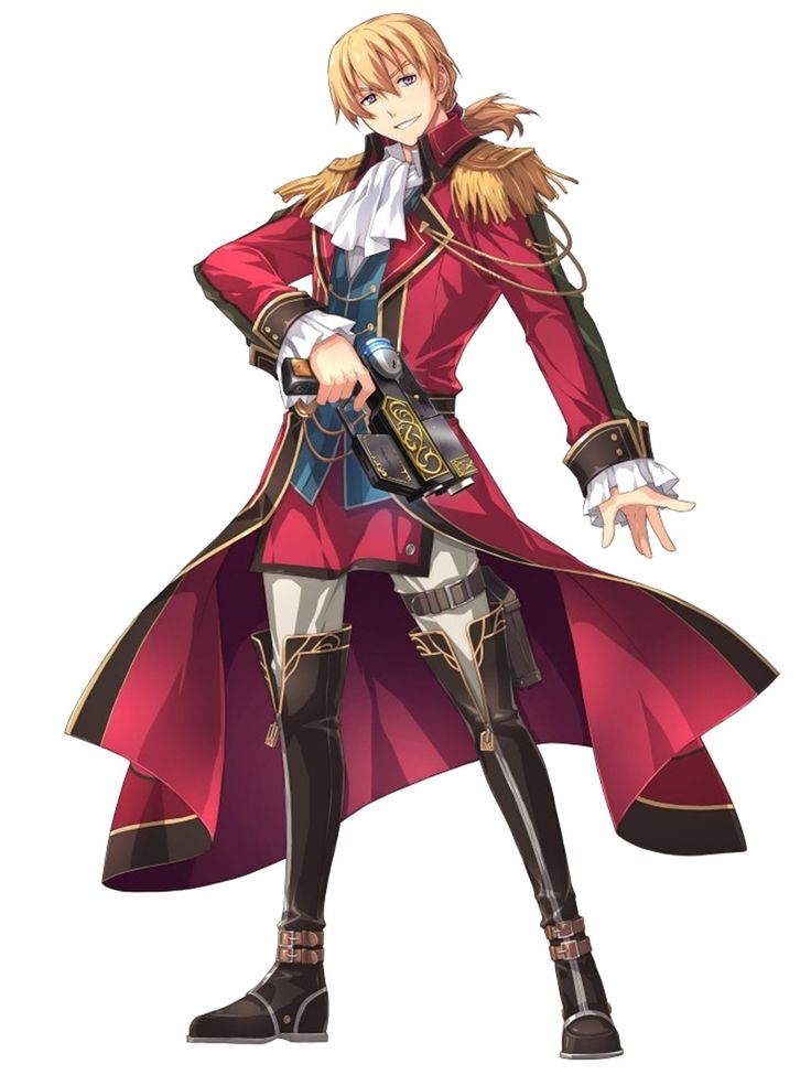 Olivert Reise Arnor from The Legend of Heroes: Trails of Cold Steel II