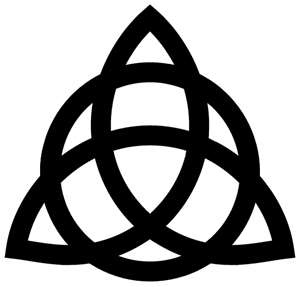 triquetra: right underside, the power of three