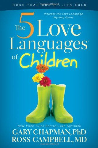My Love Louder Week 3 Projects and a great parenting book - 5 Love Languages of Children - from The Peaceful Mom
