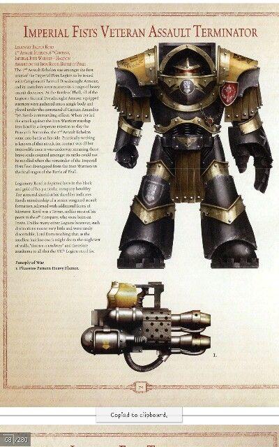 Imperial fist terminator veteran