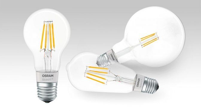 HomeKit-Lampen mit LED-Filament von Osram