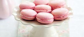 Macarons rosa com chocolate branco | O que há para comer ?