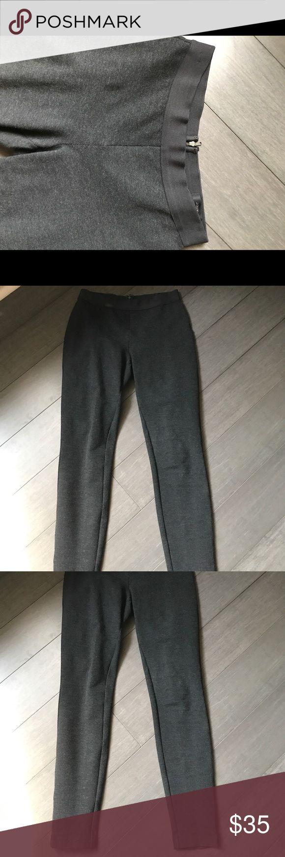 J Crew Pixie Pant EUC-Gray 2R Great condition! J. Crew Pants Leggings