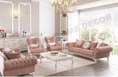 AS Koltuk Home Decor: For Sale - Bittersweet Shimmer Classic Sofa Set