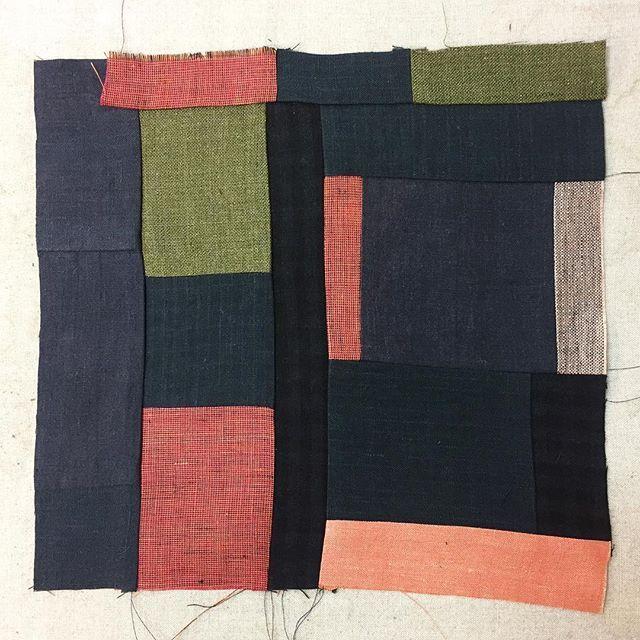 Working on some small items from #elizabethandbirgitta linen left over from production @birgittahelmersson