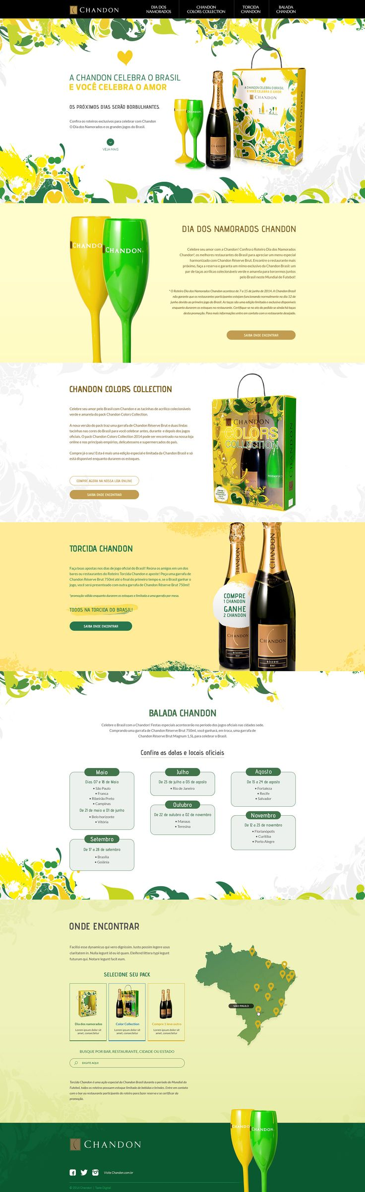 Unique Web Design, Chandon #WebDesign #Design (http://www.pinterest.com/aldenchong/)