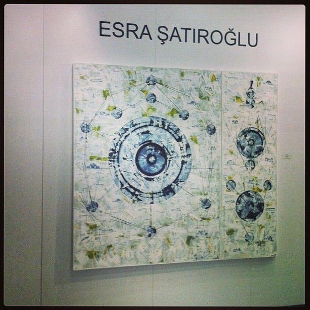 Esra Şatıroğlu-Contemporary İstanbul 2013