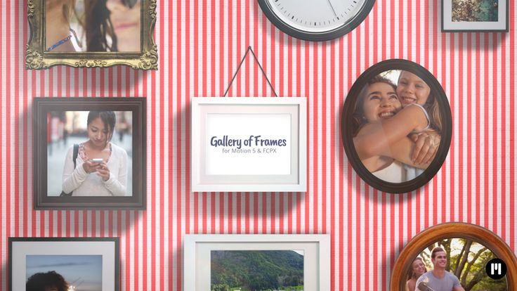 Frame Gallery APPLE MOTION TEMPLATE arrived! www.motionvfx.com/N2214 #Motion5 #FinalCutProX #FCPX #VideoEditing #Apple #Design