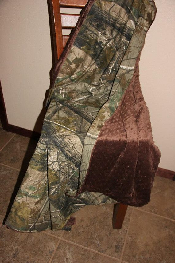 Hey, I found this really awesome Etsy listing at https://www.etsy.com/listing/127213404/minky-realtree-camo-blanket-40x36
