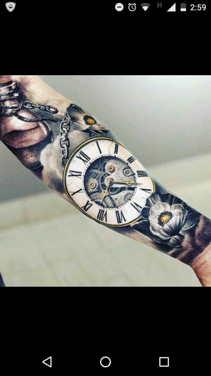 """Color and style of time piece, captioned """"until the end of time"""""""