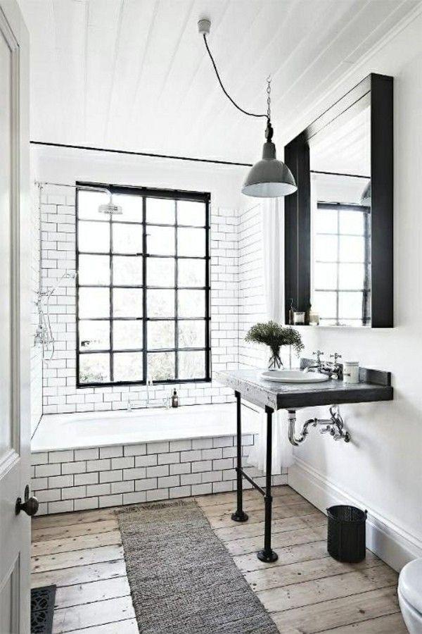 1056 best Badezimmer Ideen u2013 Fliesen, Leuchten, Möbel und - schwarz wei fliesen bad