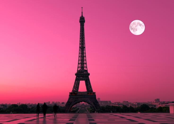 Poster PARIGI - PARIS - Tour Eiffel Fantasia - AL TRAMONTO - ARREDAMENTO   eBay