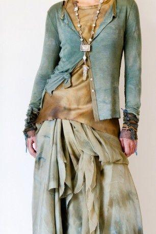 Turquoise and tan..Robin Kaplan design