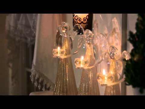 Silver and Gold Christmas home decor ideas  ▶ Holiday Silver, Gold Vienna & Embrace Collections - YouTube Get your partylite collection for free ...Ask me how at www.debrafricke.partylite.com.au  Independent Partylite Consultant