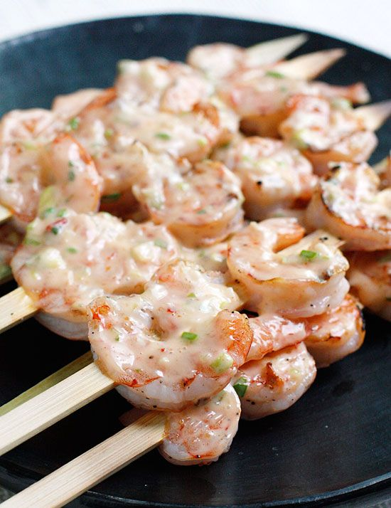 Bangin' Grilled Shrimp Skewers   No. 8 of Top 10 Most Popular Weight Watcher Recipes