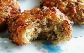 Low Carb Sausage Biscuit Recipe