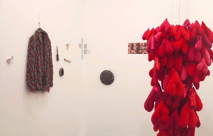 Much has changed since opening night of Julia Cseko's solo show YOU ME, a show which invited visitors to bring an object of personal significance representing love to be exchanged for a handmade heart.