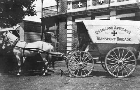 Toowoomba Ambulance 1910