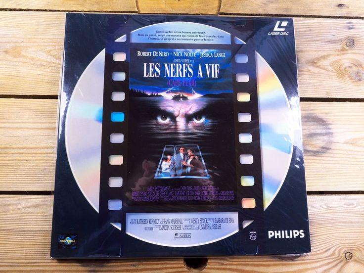 Les nerfs à vif LASERDISC PAL LD Robert De Niro Martin Scorsese 1991