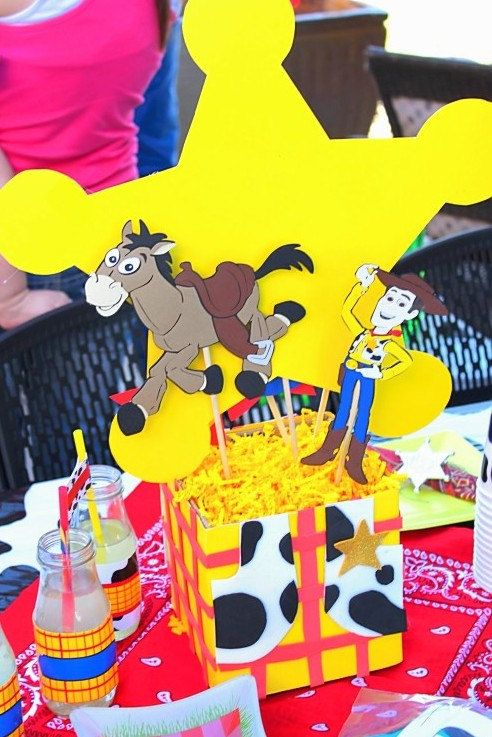 Toy Story Party  Woody Party Cowboy Party  Cowboy by PSLetsParty, $8.00